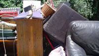 More dumped belongings