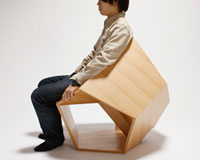 For those who enjoy being uncomfortable when they sit