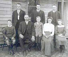 The Graham Family of Wunghnu, Victoria, Australia.