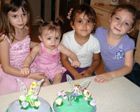 Tahlia's first birthday with cousins