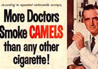 Old Camel advertisement