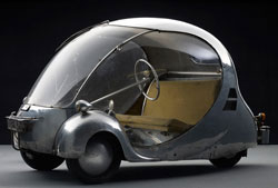 The French egg car