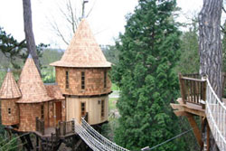 A castle treehouse